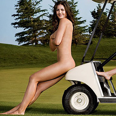Golfer Sandra Gal in great body nude shot